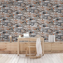 Retro wallpaper self-adhesive personality stone cement waterproof wallpaper background wall decoration stickers mural wallpaper стоимость