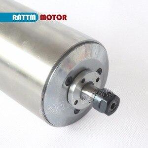 Image 2 - 1.5KW chłodzony wodą silnik wrzeciona ER11/ 24000 obr./min i 1.5kw falownik VFD 220V i 80mm zacisk i 75W pompa wodna/rury z 1 zestawem tulei