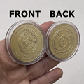 CO42 SAFEMOON, Цифровая монета, монета с золотым или серебряным покрытием, криптовалюта, коллекционный отличный подарок