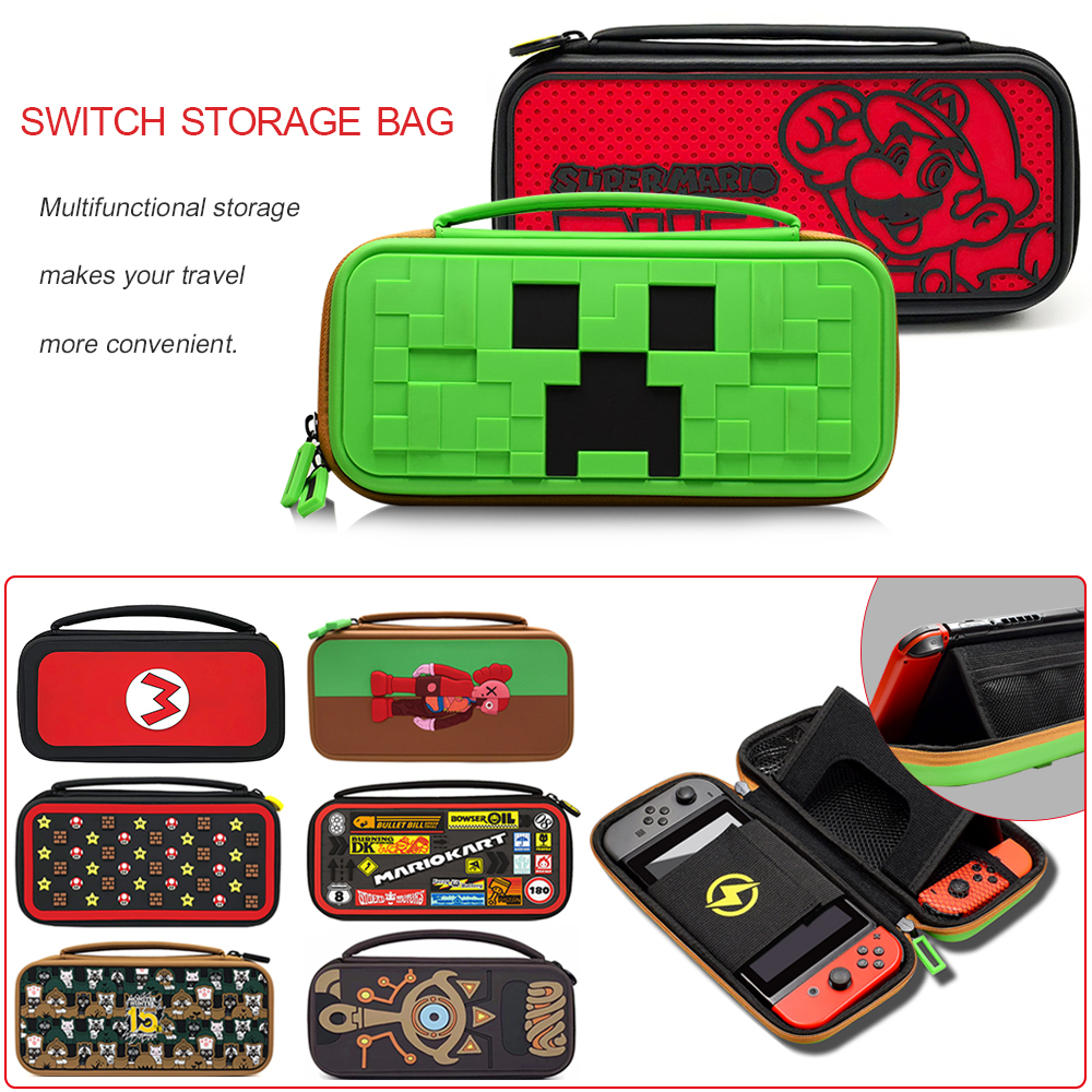 2020 Newest design Carrying Case for NintendoSwitch Console Nintend Switch Hand Storage Bag for Nintendo Switch Accessories