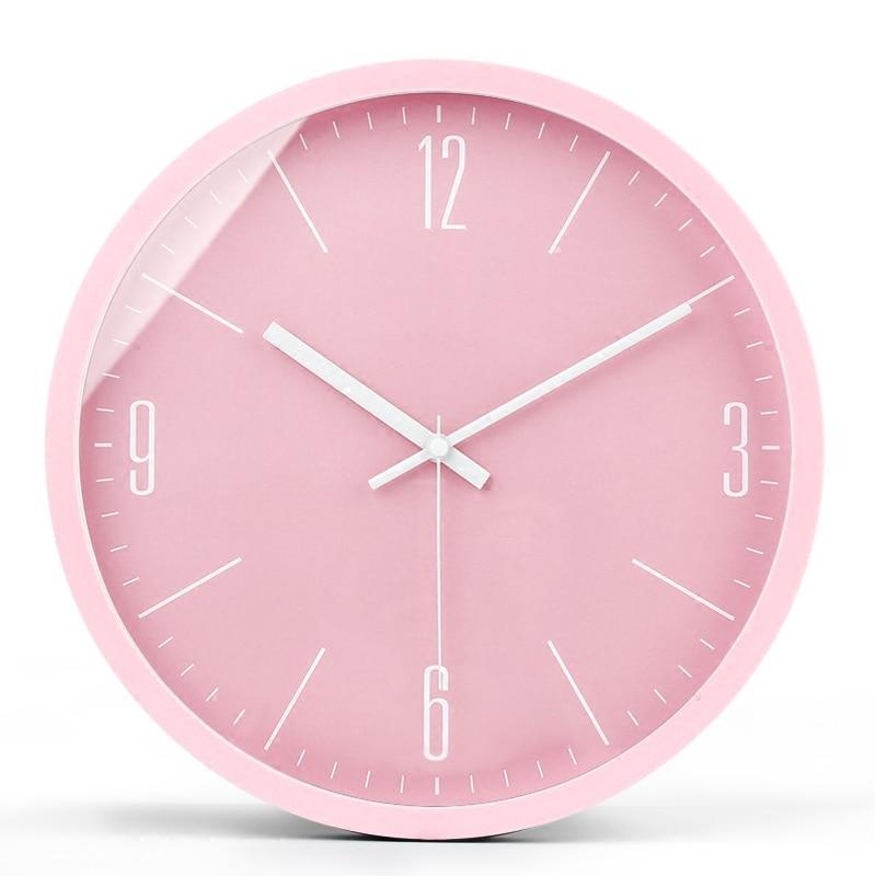Creative Bedroom Night Glow Nordic Wall Clock Analog Modern Design Wall Clocks Decorative Watch Wall Watches Home Decor II50BGZ