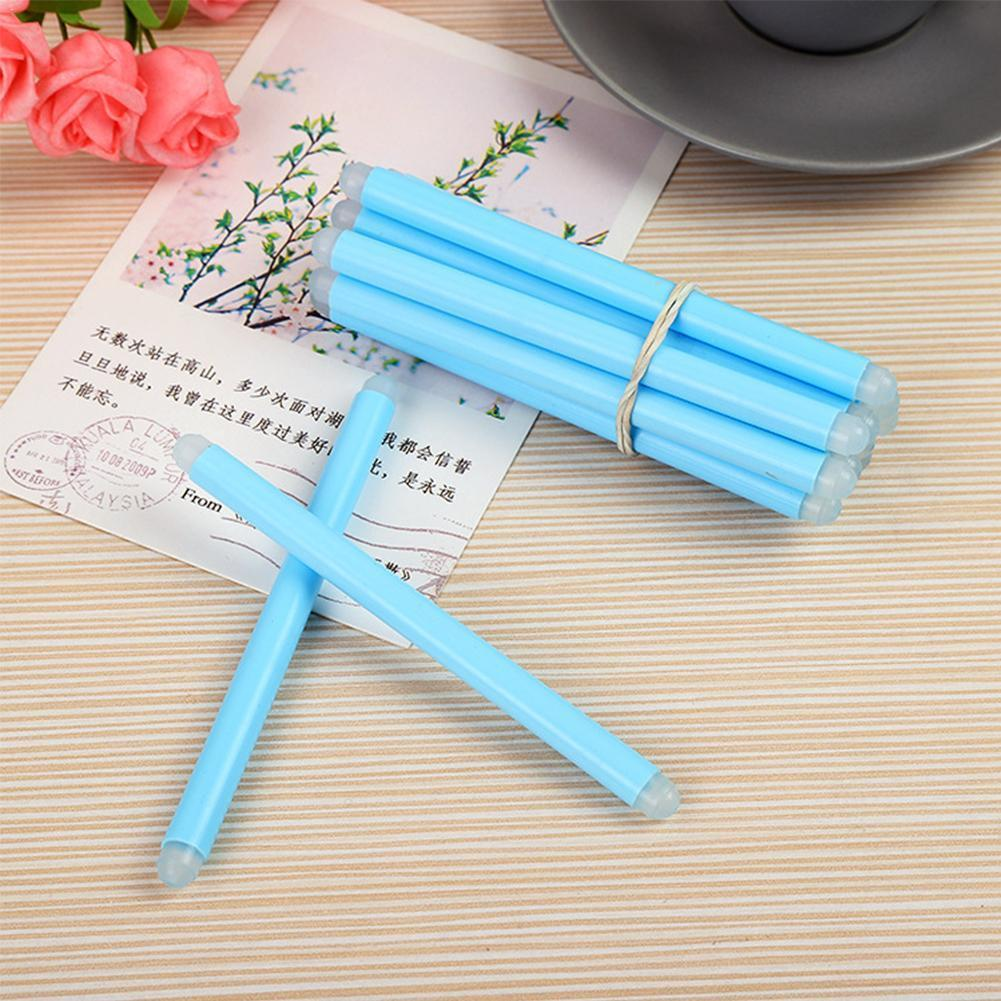 1piece Erasable Stick Rubber Stick Pink Fluorescent Green Student Light Blue Supplies Gifts Office Children's Stationery Y5N2