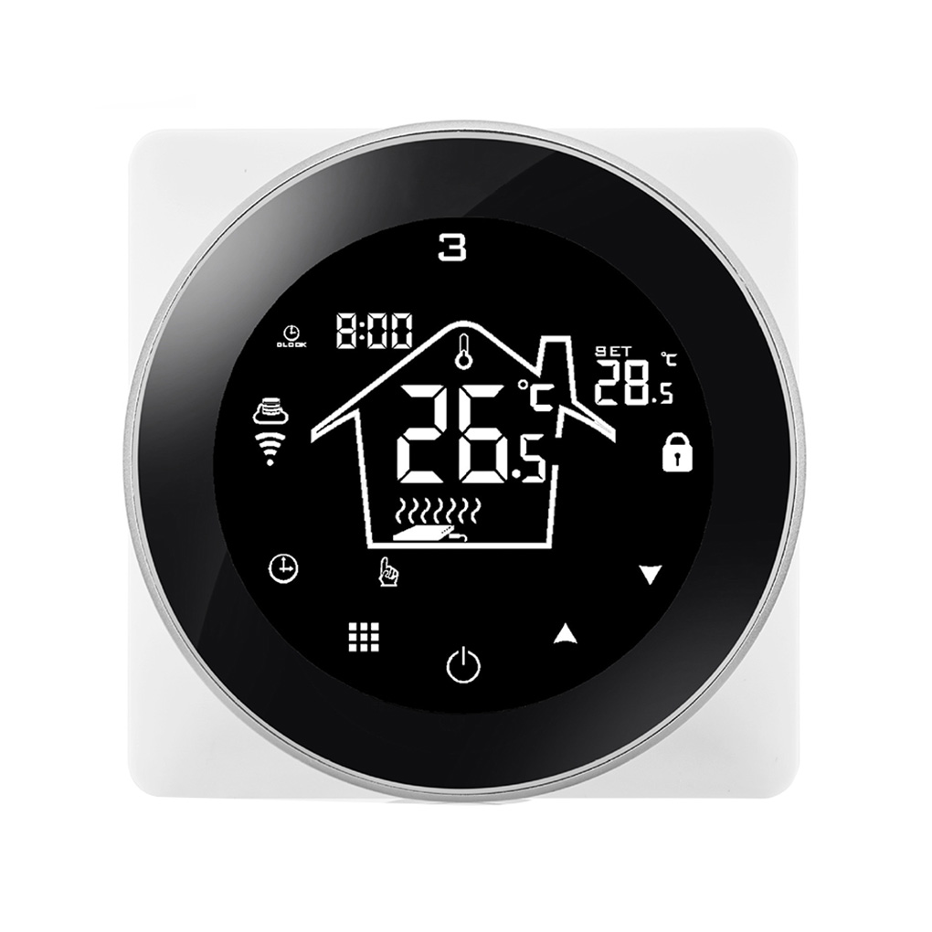 Smart Thermostat Electric Heating Wall-Hung Boiler Phone 16A Control Thermostat WiFi Smart Thermostat Electric Floor Heating