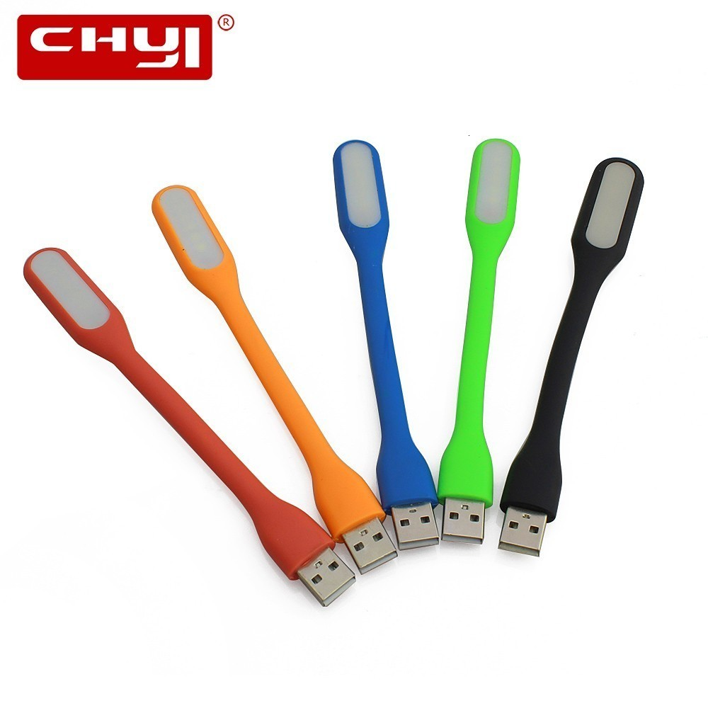 CHYI Usb Gadget Mini Led Light Flexible Micro Ventilador Usb Led Lamp  Small Electronic Gadgets For Reading For PC Computer
