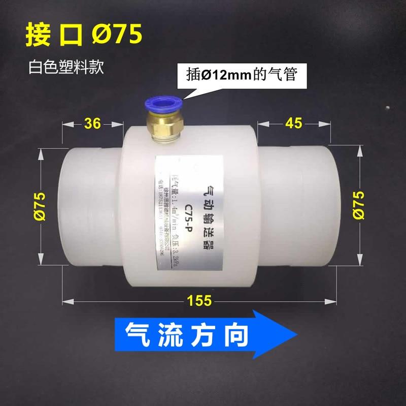 Pneumatic Conveyor Air Amplifier Engineering Plastic