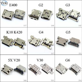 1pc For LG E400 G2 G3 G4 K10 K420 V10 V20 V30 G5 H868 G6 Neuxs 4 5X Micro USB Charging Dock Connector Charge Port Socket Jack. image