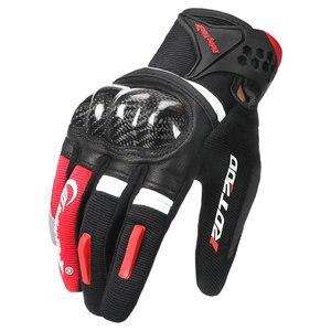 Image 1 - Motorcycle Gloves Motocross Full Finger Motorbike Gloves Touch Screen Glass Fiber Riding Biker Moto Gloves Four Seasons Unisex
