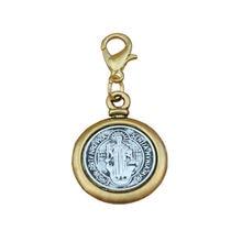 50 шт/лот медаль Святого Бенедикта экзорцизма католический крест