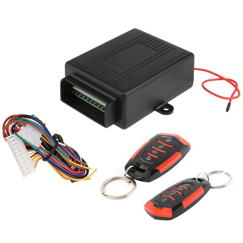 VODOOL-verrouillage universel de porte à distance pour voiture, 12V, système dalarme pour ouverture sans clé, verrouillage Central à distance pour véhicule, 402/T111