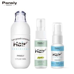 Pansly Hair Removal Spray Full Body Hair Growth Inhibitor Facial Removal Cream Stop Hair Beard Bikini Intimate Face Legs Armpit(China)