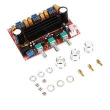 12-24V TPA3116D2 2x50 W+ 100W 2,1 канальный цифровой сабвуфер усилитель мощности плата цифровой усилитель чипы