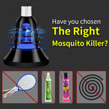 LED Mosquito Killer Lamp Outdoor 5V USB Bug Zapper Bulb 220V Insect Light E27 Electronic Trap Anti Fly