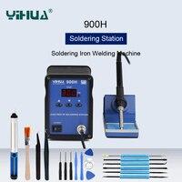 YIHUA 900H Thermostat Lötkolben Digitale Löten Station Bleifrei Schweißen Plattform Wirbelstrom Heizung-in Elektrische Lötkolben aus Werkzeug bei