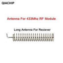QIACHIP 20 ensemble 433MHz RF printemps antenne RF récepteur émetteur Module 433 MHZ pour la maison intelligente lumière sans fil télécommande commutateur