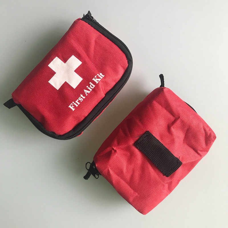 3 Pcs First Aid Kit Rescue Bag Survival Emergency Treatment Mini For Outdoor Hiking Camping
