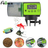 Automatic Fish Feeder Digital Aquarium Fish Tank Electric Timer Plastic Feeders Portable Food Dispenser Feeding Fish Feeder Tool