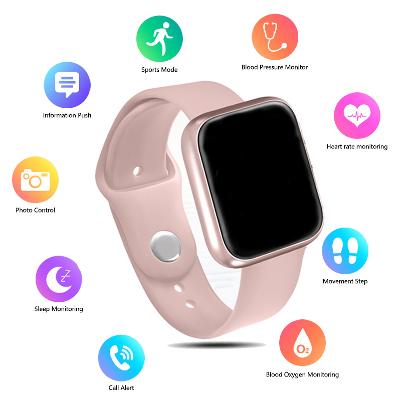 Women IP68 Waterproof Smart Watch <font><b>P70</b></font> P68 Bluetooth 4.0 <font><b>Smartwatch</b></font> For Apple IPhone xiaomi Heart Rate Monitor Fitness Tracker image