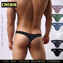 2020 New Cotton LOGO Soft Sexy Gay Underwear Men Thong Men Jockstrap Gay thongs G String Men Penis Pouch Gay Underwear Sexi