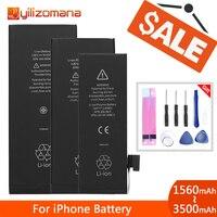 Batería de teléfono Original YILIZOMANA para Apple iPhone 5S 6 6P 6s Plus baterías de repuesto 1560mAh 2915mAh + herramientas gratis|Baterías para teléfonos móviles|Teléfonos y telecomunicaciones -