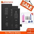 YILIZOMANA Оригинальный аккумулятор для телефона для Apple iPhone 5S 6 6P 6s Plus сменные батареи 1560mAh 2915mAh + Бесплатные инструменты