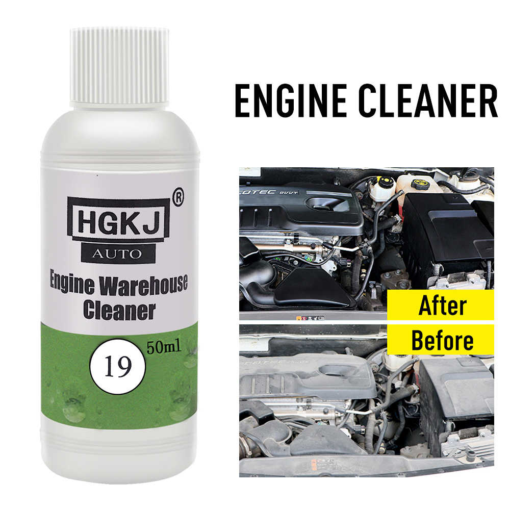 New HGKJ-19 engine compartment cleaner removes heavy oil car cleaning kit for decontamination auto parts engine care