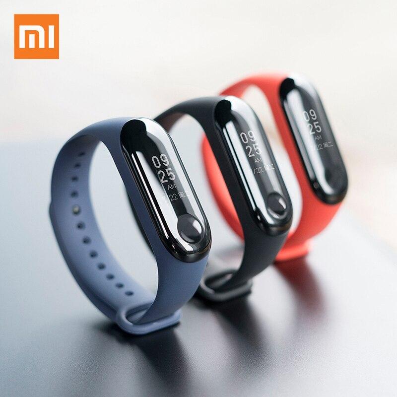 Xiao mi mi bande 3 Bracelet intelligent Bracelet de remise en forme mi bande OLED 0.78 pouces grand écran fréquence cardiaque 5ATM étanche Bluetooth Smartband - 6