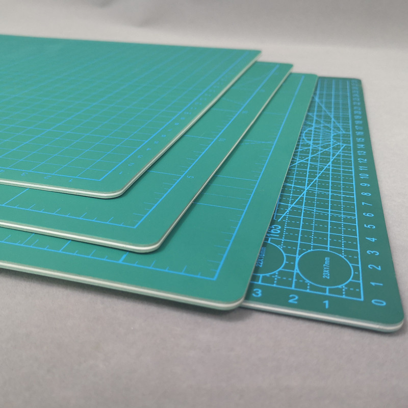 A2 / A3 /a4 White Core Cutting Board Pad Board Large Manual Desktop Stereotypes Student Diy Paper Self-healing Engraving Version