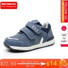 Apakowa/спортивная обувь для маленьких мальчиков; Модные кроссовки для занятий спортом на открытом воздухе для маленьких детей; Сезон весна осень; Обувь для бега; Европейский размер 21 26 #