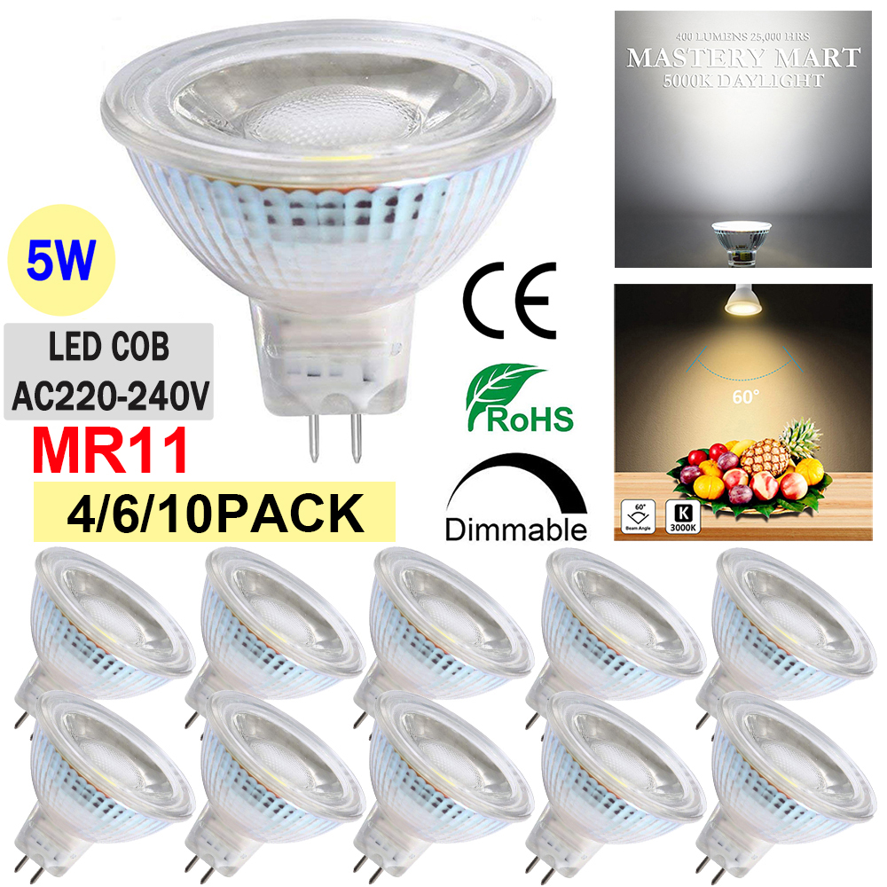1-10PACK G9 LED Bulbs Dimmable 3W//5W//7W Halogen Equivalent Replacement Warm//Cool