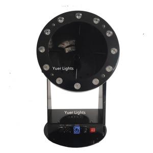 Image 2 - Ücretsiz kargo yüksek kalite 1200W Led düğün konfeti topu makinesi düğün makinesi konfeti makinesi için parti LED kulüp ışığı