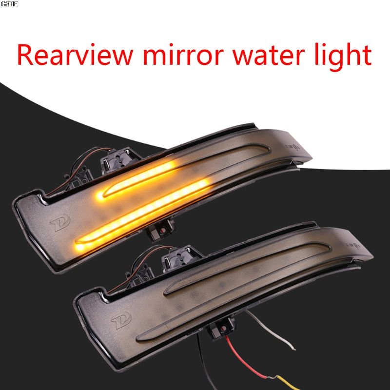 1 Pair Car Rearview Mirror Indicator Led Dynamic Water Turn Signal For C/E /S/Cla/Gla/Cls Class W176 W204 W246 C216 C117 C218