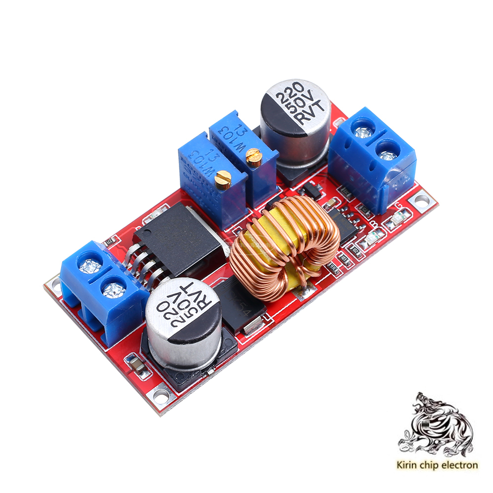 5PCS/LOT Constant Current Constant Voltage High Current 5A Lithium Ion Battery Charging LED Drive Power Supply Module
