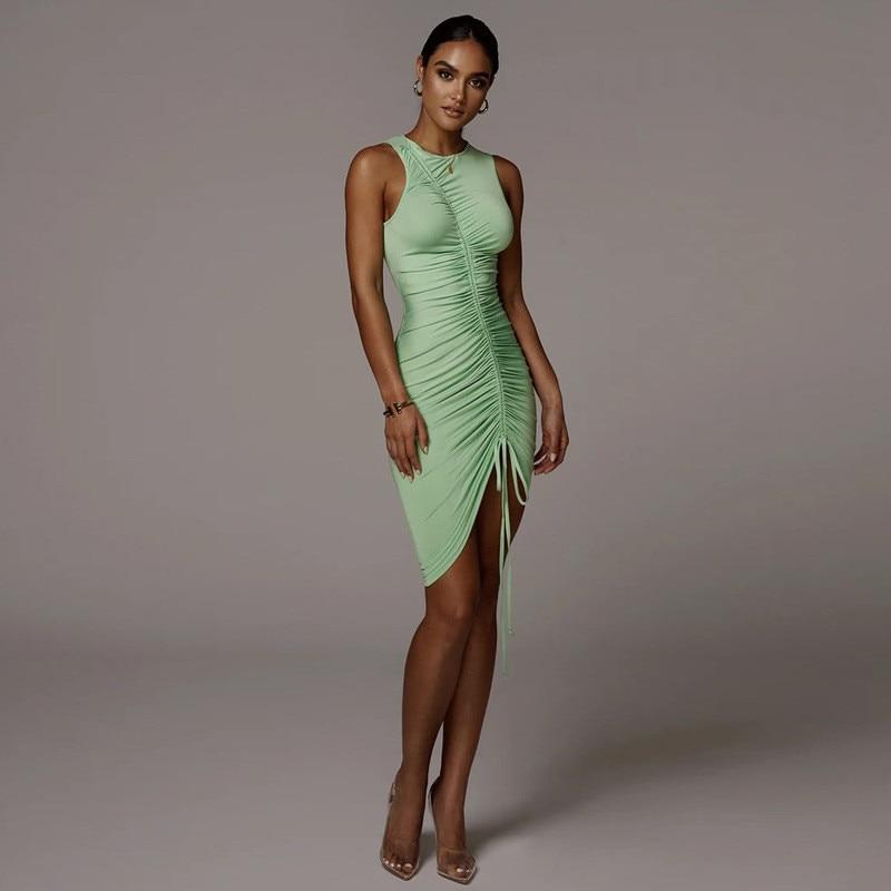 sleeveless mini short dress04