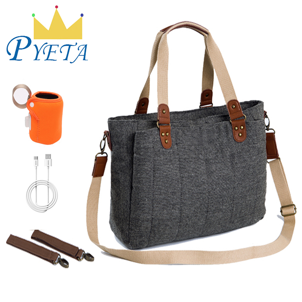 PYETA Diaper Bag For Baby Stuff Baby Bag For Mom Travel Stroller Bag Nappy Backpack Bolsa Maternidade Bag For Baby Care