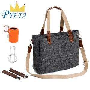Image 1 - PYETA Diaper Bag For Baby Stuff Baby Bag For Mom Travel Stroller Bag Nappy Backpack Bolsa Maternidade Bag For Baby Care