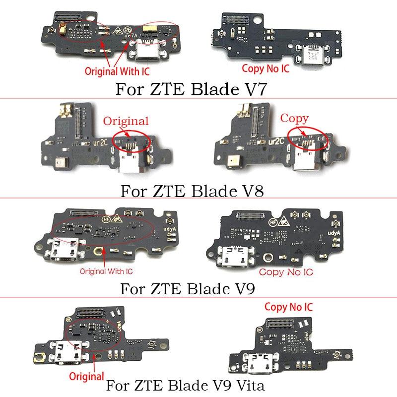 USB зарядное устройство док-станция разъем гибкий кабель для ZTE Blade A320 A515 A602 A620 A910 L7 V8 Max V9 Vita A6 Lite
