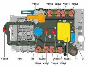 Image 2 - Orijinal OEM test 722.9 TCM TCU şanzıman kontrol ünitesi İletken plaka VS2 ve VS3 A0335457332 Mercedes Benz için