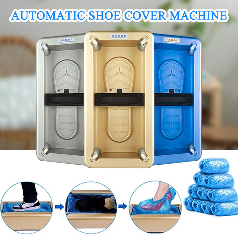 Automatic Shoes Cover Dispenser Household Disposable Booties Maker Dustproof Machine Shoe Cover For Home