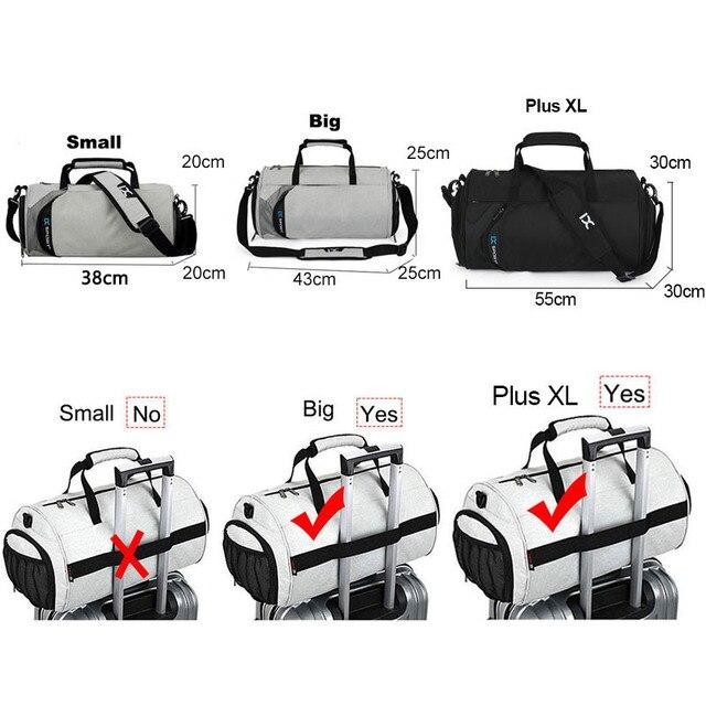 Men Gym Bags For Training Bag Tas Fitness Travel Sac De Sport Outdoor Sports Swim Women Dry Wet Gymtas Yoga Shoes Bag XA103WA 5