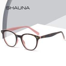 Женские очки в стиле ретро shauna винтажные круглые с декоративными