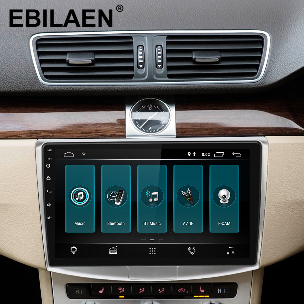 Ebilaen rádio do carro reprodutor multimídia para vw volkswagen passat b7 b6/magotan 2din android 9.0 autoradio gps navegação dvr câmera - 2