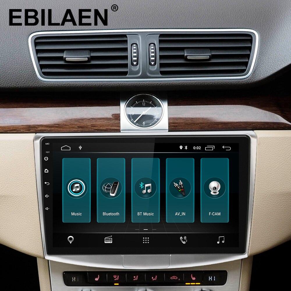 Lecteur multimédia Autoradio EBILAEN pour VW Volkswagen Passat B7 B6/Magotan 2Din Android 9.0 Autoradio GPS Navigation DVR caméra - 2