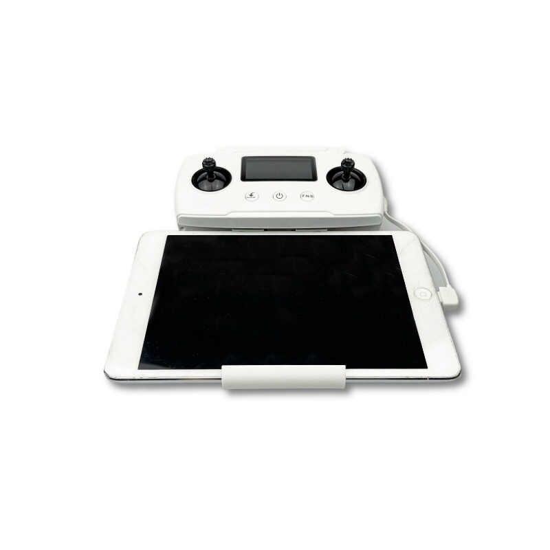 Remote Control Ponsel Tablet Layar Besar Monitor Ekstensi Dudukan Penahan Braket Klip Berdiri untuk Hubsan Zino 2 Drone Aksesoris