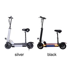 500W 48V Black/Silver Electric Scooter Lithium Battery 48V 26AH Foldable Skateboard Patinete Adult Electric Hoverboard E Scooter