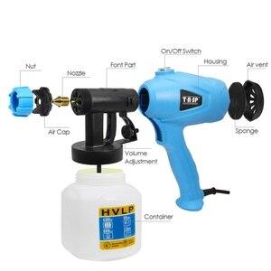 Image 4 - Tasp電気スプレーガン 400 ワットhvlpペイント噴霧器コンプレッサーフロー制御エアブラシ電源ツール簡単噴霧 & クリーン 120v/230v