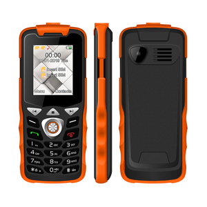 Image 2 - Unlocked 2G GSM Push Button Key Cellphone Feature Mobile Phone  Led Flashlight Dual SIM Card Senior Kids Mini Phone UNIWA W2026