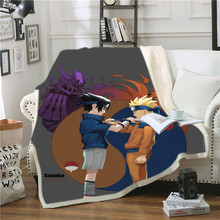 hot sell quilt cover bedclothes bedding set double layer blanket simple fashion crystal thicken velvet quilt cover home supplies NARUTO 3d Print Sherpa Blanket Quilt Cover Travel Youth Bedding Outlet Velvet Plush Throw Blanket Bedspread