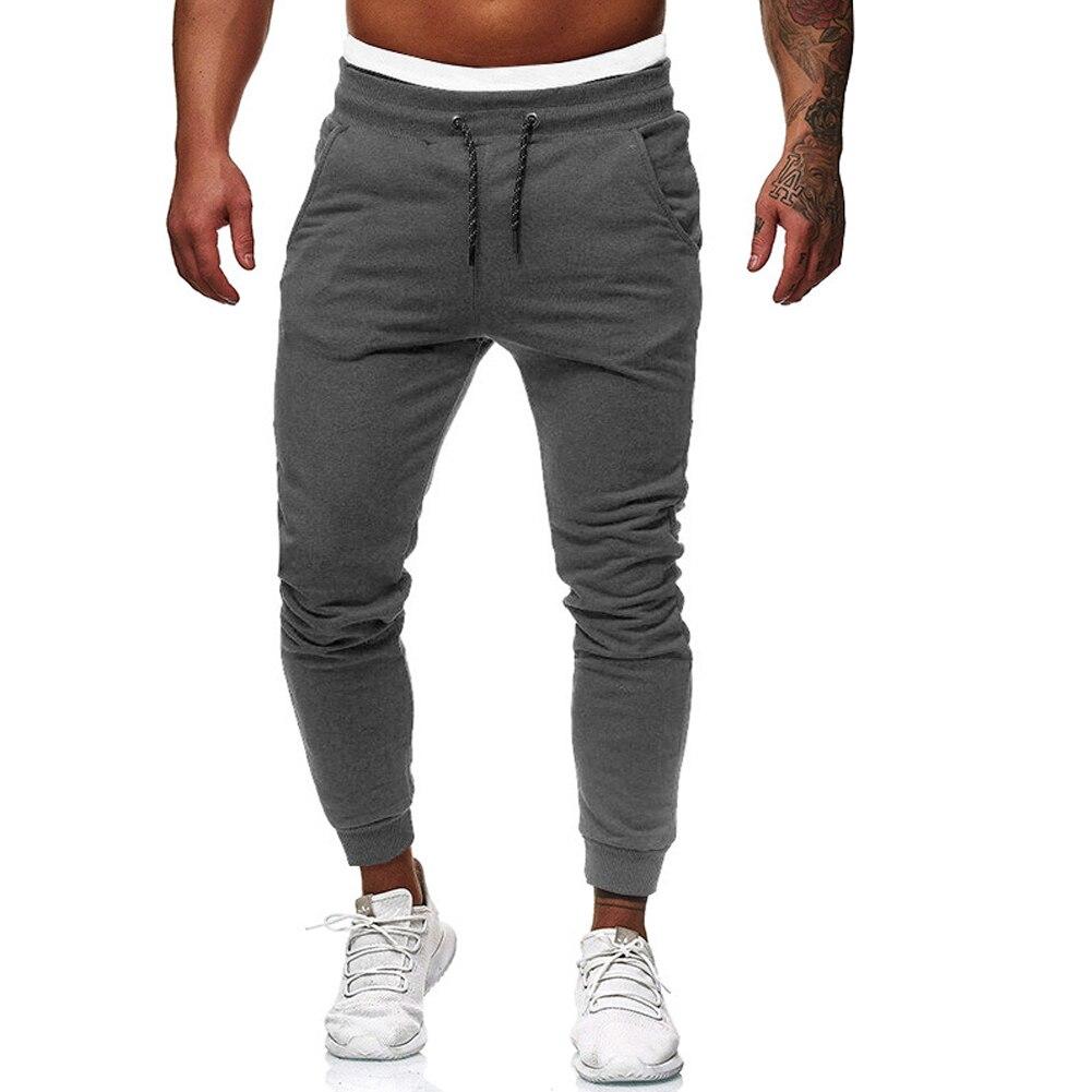 Men Casual Pants Hip Hop Harem Joggers Pants New Fashion Male Trousers Mens Joggers Patchwork Pants Sweatpants