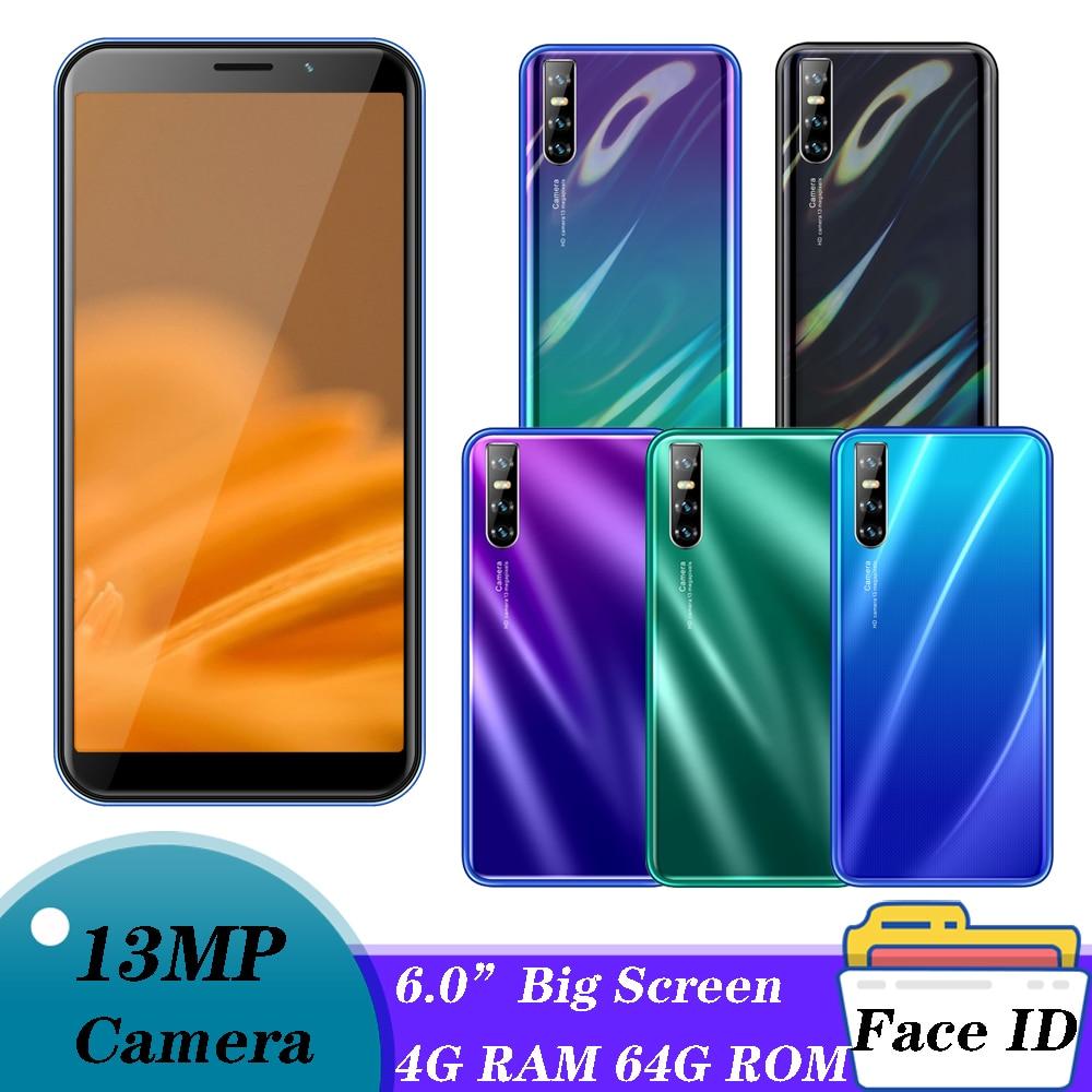 Смартфон A71, 4 + 64 ГБ, 5 + 13 МП, 4 ядра, 6,0 дюйма