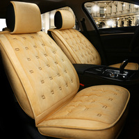 Car Seat Cover Winter Cushion Warm Auto Seats Covers for Peugeot 308 309 408 508 4007 4008 508 SW partner tepee